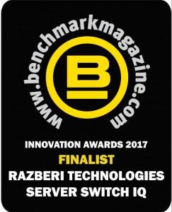 Benchmark Innovations Award Razberi 2017