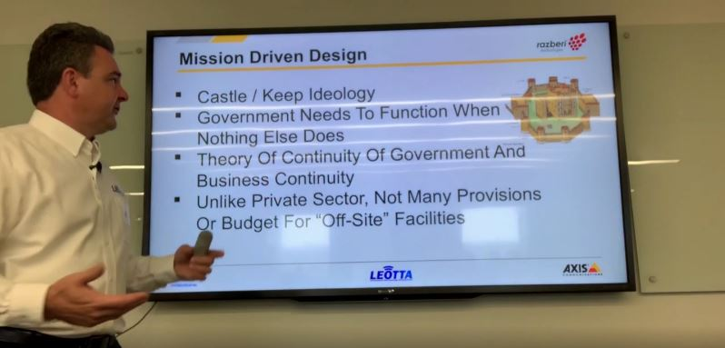 Jack Hall presents Design-Builds for Public Safety with Razberi, Milestone, and Axis Communications.