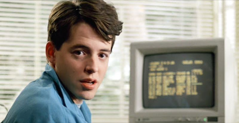 High school hacker, education security, ferris bueller,